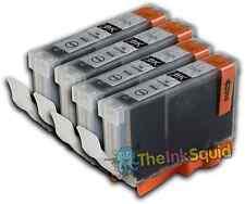 4 noir CLI526 cartouches d'encre pour Canon Pixma iX6550 MG5150 MG5200 MG5220