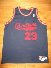 Nike LEBRON JAMES No. 23 CLEVELAND CAVALIERS (Size XL) Jersey