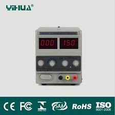 YIHUA 1502DD Adjustable Variable Output DC Power Supply LED Display 15V 2A
