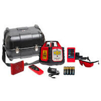 Spot-On Rotary Laser 200 - Self-levelling Laser Level, Receiver+Remote Control