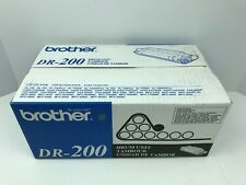 Brother DR-200 Drum Unit New Factory Sealed NOS Genuine