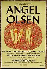 Angel Olsen 2015 Tour Poster Australia Gig Concert