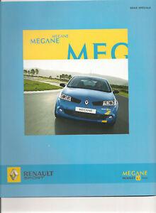 CATALOGUES  RENAULT SPORT MEGANE F1 TEAM 2006