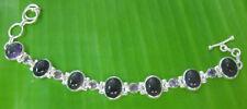 Natural Sterling Silver Beaded Fine Bracelets