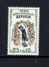 France 1960 REFUGEE GIRL AMID RUINS MNH SC B340