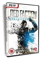 Red Faction Armageddon (PC DVD) BRAND NEW SEALED