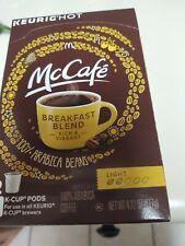 McDonalds McCafe Breakfast Blend Coffee K Cup Cups Keurig 12 ct