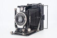 Voigtlander Avus 6.5x9cm Plate Camera with Skopar 13.5cm f/4.5 Lens READ V10