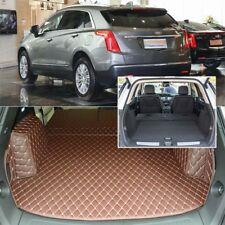 6pcs Black Rear Trunk Cover Cargo Mats Seat&Floor Protector For Cadillac XT5