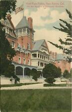 California, CA, Paso Robles, Hotel Paso Robles 1910's Postcard