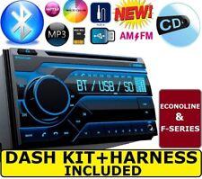 F150 NAVIGATOR EXPEDITION ECONOLINE VAN Car Stereo Radio Cd Bluetooth Double Din