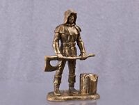 Headsman Middle Ages Model 54mm collectible statue Copper figur sculpture