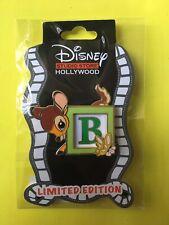 Disney Dssh Dsf Bambi Baby Blocks Le 400 Pin