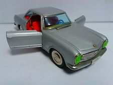 Vintage Japan ICHIKO Mercedes 230 SL Pagode tinplate friction 1960's