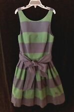 Abercrombie & Fitch Junior Girls Size 0 Wide Stripe Cotton Dress Flirty Styling