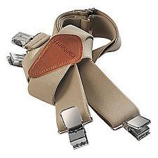CARHARTT Suspenders,Polyester,Khaki,52 in. L, 45002-KHA, Khaki