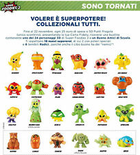 SUPER FOODIES 2 ESSELUNGA 2020 PERSONAGGI 3D A SCELTA
