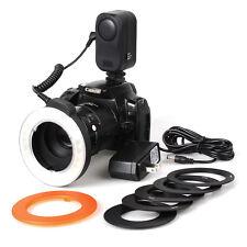 NEW HOT 48LED Macro Ring LED Camera DSLR Light Adapter for Nikon Canon Sony Fuji