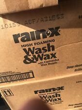 Rain-X 5077557 Wash and Wax with Carnauba Wax Beads -64 fl oz. 64 oz. Case Of 6
