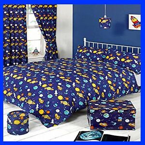 Space Adventure Bedroom Collection Duvet Sets Curtains Lamp Shade Storage Box