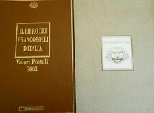 Italia Libro dei francobolli 2003 Buca delle lettere Completo DI francobolli