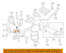 NISSAN OEM Exhaust-Front Pipe Gasket 2069151E01