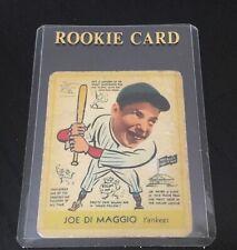 1938 Goudey Joe DiMaggio #274 New York Yankees Rookie BASEBALL CARD