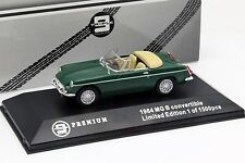TRIPLE 9 - 100002 MGB CONVERTIBLE 1964 GREEN LTD EDITION 1:43 SCALE.