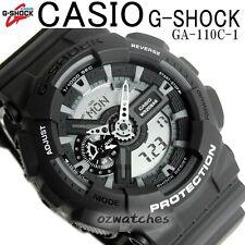 CASIO G-SHOCK MENS WATCH GA-110C-1A FREE EXPRESS DARK GRAY GA-110C-1ADR DIGITAL