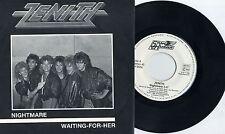 """Zenith -Nightmare 7"""" German 80s Hard Rock Sargant Fury Hate Squad Praying Mantis"""