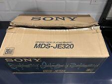 SONY MDS-JE320 Home Recording Mini Disc Deck. New-open Box