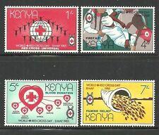 Album Treasures Kenya Scott # 333-336 International Red Cross Set Mint NH