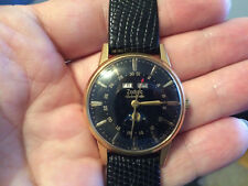 Vintage ZODIAC Automatic Triple Date Calendar Moonphase Watch  w/ Hack