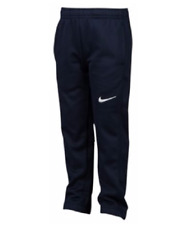 $38 NEW Nike Boys Therma-FIT Thermal Fleece Pant Obsidian Blue Navy Size 4 5 6 7