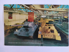 T34 & SU100 Tanks Royal Armoured Corps Tank Museum Dorset Picture Postcard