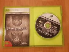 Xbox 360 Transformers The Game Cybertron Edition - Excellent Condition with book