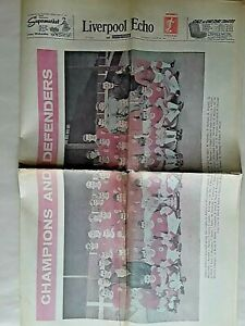 LIVERPOOL ECHO SPECIAL EDITION AUGUST 1964 PREVIEW OF 1963-64 SEASON EVERTON