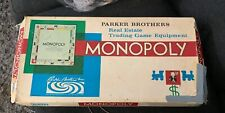 Vintage 1935's Monopoly Board Game