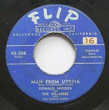 Hear! Doo Wop 45 Donald Woods - Man From Utopia / Death Of An Angel On Flip