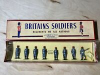 Britains Egyptian Army Infantry Review Order Toy Soldiers No.117 Pre-Owned