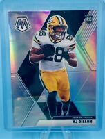 AJ DILLON 2020 Panini Mosaic Silver Prizm RC Packers Rookie MINT CONDITION