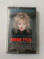 BONNIE TYLER Faster Than The Speed Of Night FCT38710 Cassette Tape