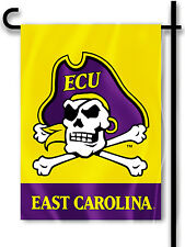 "East Carolina Pirates 13"" x 18"" Two-Sided Garden Flag NCAA Licensed ECU"