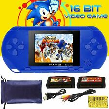 2.8'' 16Bit Handheld Slim  PVP PXP3 PSP Game Console 2 Games Card For Kids Toy