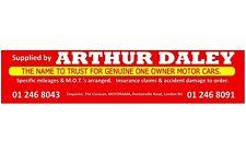 Arthur Daley Motorama REPLICA Finestra Adesivo FORD VAUXHALL AUDI BMW HONDA ROVER