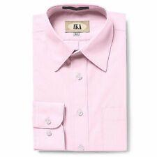 AKA Boy's 2-20 Regualr Fit Long Sleeve Solid Dress Shirt - Colors