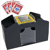 Automatic Card Shuffler Electric Poker Cards Shuffling Machine for Home Club