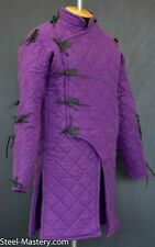 New Item Medieval Gambeson Purple Color Reenactment Costume Sca Larp