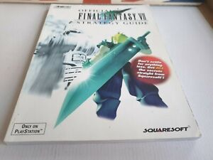 FINAL FANTASY VII (7) : OFFICIAL STRATEGY GUIDE. Brady Games.