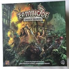 NEW sealed Zombicide Green Horde base game box kickstarter In Hand ready to ship